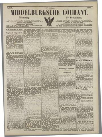Middelburgsche Courant 1902-09-15
