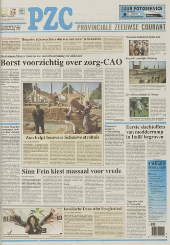 Provinciale Zeeuwse Courant 1998-05-11