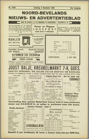 Noord-Bevelands Nieuws- en advertentieblad 1938-12-03