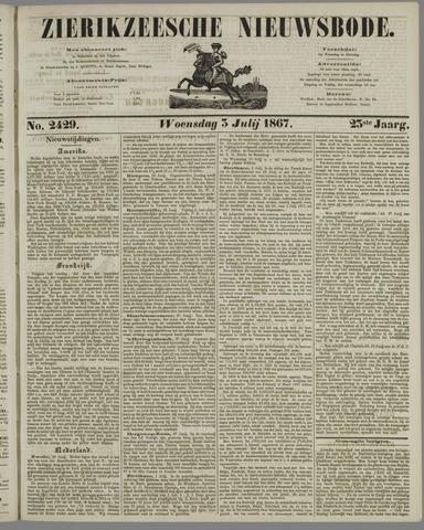 Zierikzeesche Nieuwsbode 1867-07-03