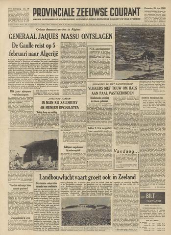 Provinciale Zeeuwse Courant 1960-01-23