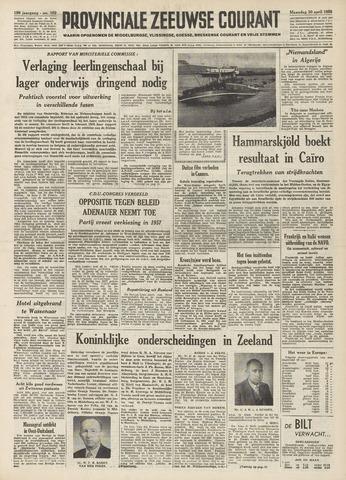 Provinciale Zeeuwse Courant 1956-04-30