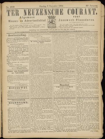 Ter Neuzensche Courant. Algemeen Nieuws- en Advertentieblad voor Zeeuwsch-Vlaanderen / Neuzensche Courant ... (idem) / (Algemeen) nieuws en advertentieblad voor Zeeuwsch-Vlaanderen 1904-12-06