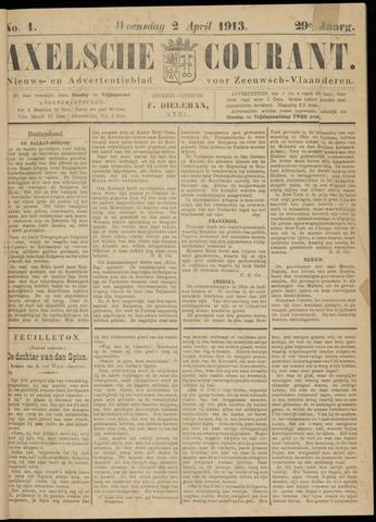 Axelsche Courant 1913-04-02