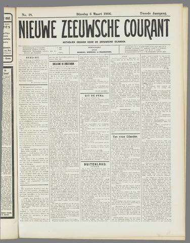 Nieuwe Zeeuwsche Courant 1906-03-06