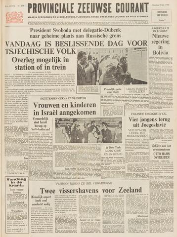 Provinciale Zeeuwse Courant 1968-07-29