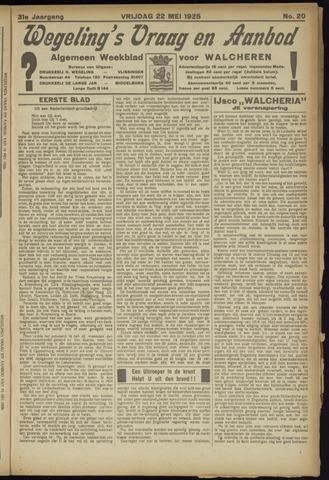 Zeeuwsch Nieuwsblad/Wegeling's Nieuwsblad 1925-05-22