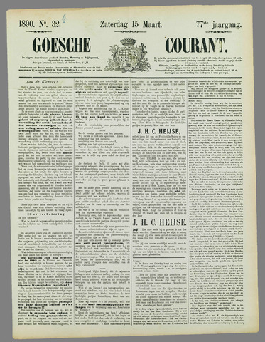 Goessche Courant 1890-03-15