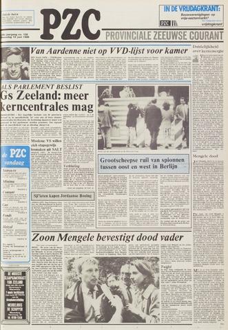 Provinciale Zeeuwse Courant 1985-06-12