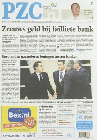 Provinciale Zeeuwse Courant 2008-10-13