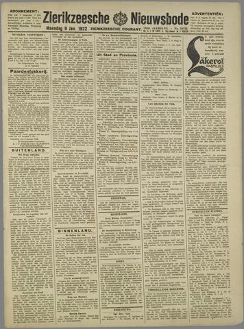 Zierikzeesche Nieuwsbode 1922-01-09