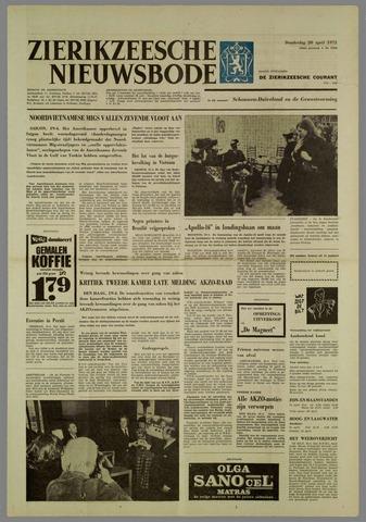 Zierikzeesche Nieuwsbode 1972-04-20