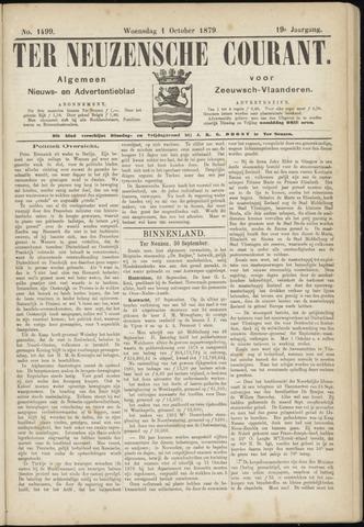 Ter Neuzensche Courant. Algemeen Nieuws- en Advertentieblad voor Zeeuwsch-Vlaanderen / Neuzensche Courant ... (idem) / (Algemeen) nieuws en advertentieblad voor Zeeuwsch-Vlaanderen 1879-10-01