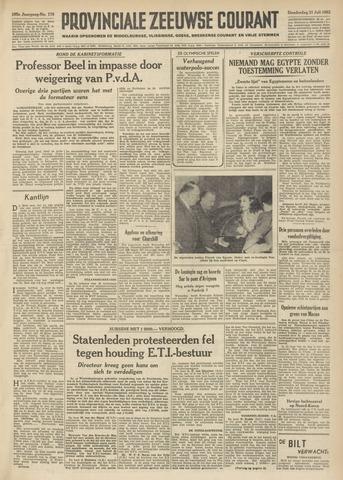 Provinciale Zeeuwse Courant 1952-07-31