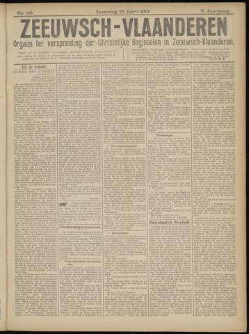 Luctor et Emergo. Antirevolutionair nieuws- en advertentieblad voor Zeeland / Zeeuwsch-Vlaanderen. Orgaan ter verspreiding van de christelijke beginselen in Zeeuwsch-Vlaanderen 1919-04-26