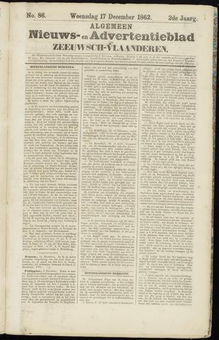 Ter Neuzensche Courant. Algemeen Nieuws- en Advertentieblad voor Zeeuwsch-Vlaanderen / Neuzensche Courant ... (idem) / (Algemeen) nieuws en advertentieblad voor Zeeuwsch-Vlaanderen 1862-12-17