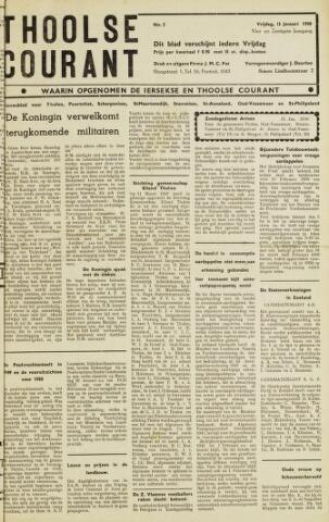 Ierseksche en Thoolsche Courant 1950-01-13
