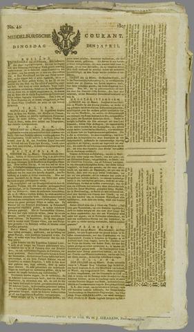 Middelburgsche Courant 1807-04-07