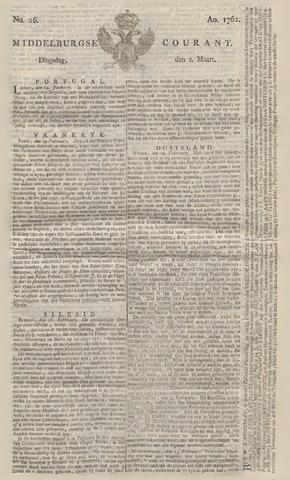 Middelburgsche Courant 1762-03-02
