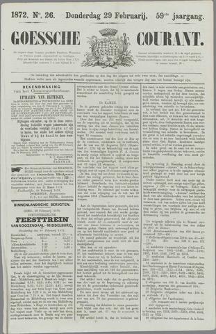 Goessche Courant 1872-02-29