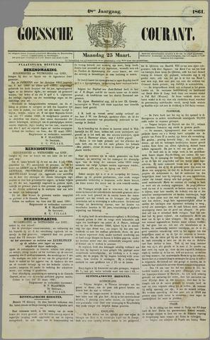 Goessche Courant 1861-03-25