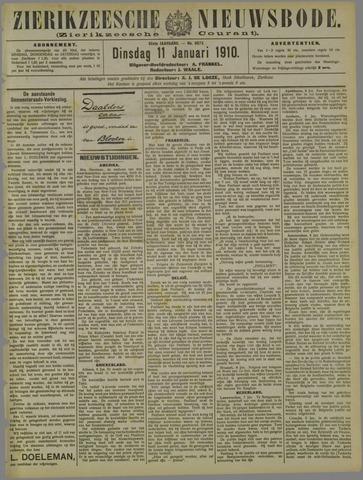 Zierikzeesche Nieuwsbode 1910-01-11