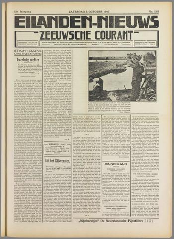 Eilanden-nieuws. Christelijk streekblad op gereformeerde grondslag 1940-10-05