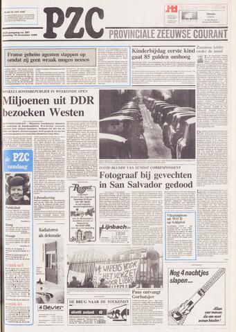 Provinciale Zeeuwse Courant 1989-11-18