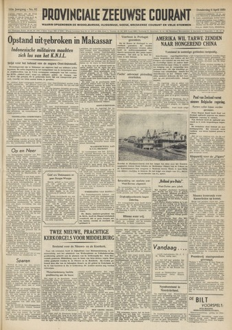 Provinciale Zeeuwse Courant 1950-04-06