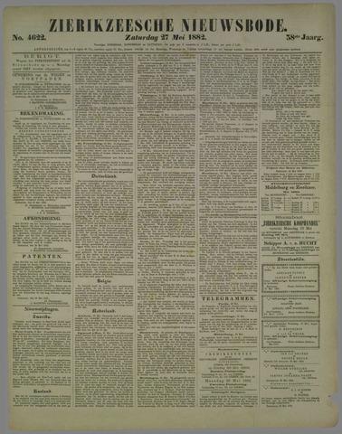 Zierikzeesche Nieuwsbode 1882-05-27