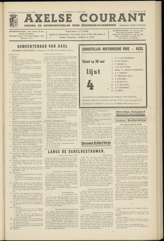 Axelsche Courant 1962-05-26