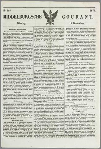 Middelburgsche Courant 1871-12-19