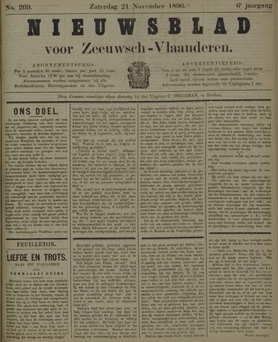 Nieuwsblad voor Zeeuwsch-Vlaanderen 1896-11-21