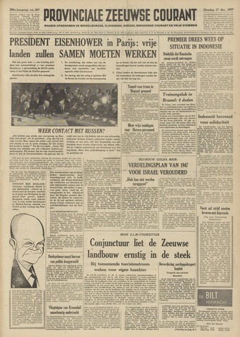 Provinciale Zeeuwse Courant 1957-12-17