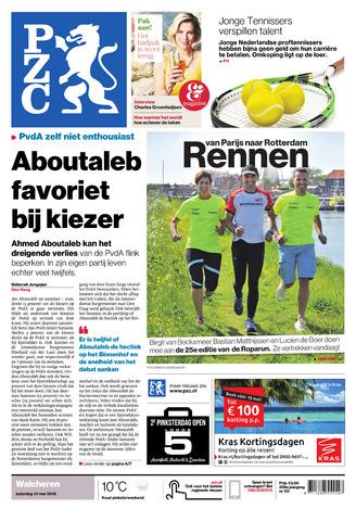 Provinciale Zeeuwse Courant 2016-05-14