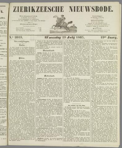Zierikzeesche Nieuwsbode 1863-07-29