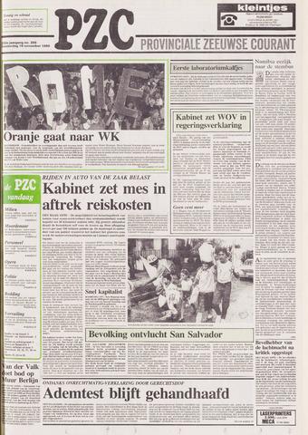 Provinciale Zeeuwse Courant 1989-11-16