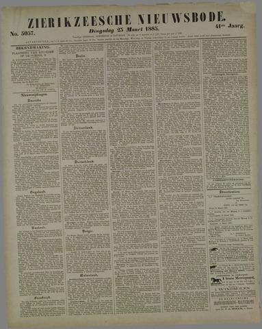 Zierikzeesche Nieuwsbode 1885-03-23