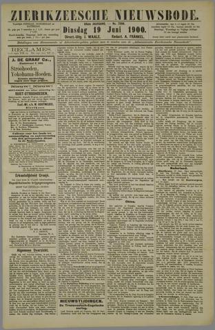 Zierikzeesche Nieuwsbode 1900-06-19