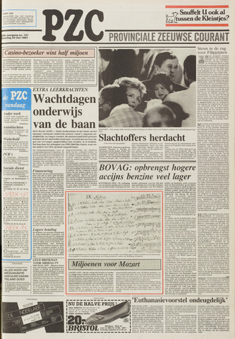 Provinciale Zeeuwse Courant 1987-05-23