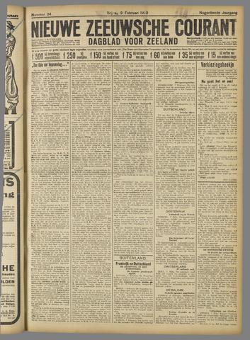Nieuwe Zeeuwsche Courant 1923-02-09