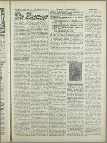 De Zeeuw. Christelijk-historisch nieuwsblad voor Zeeland 1943-07-13