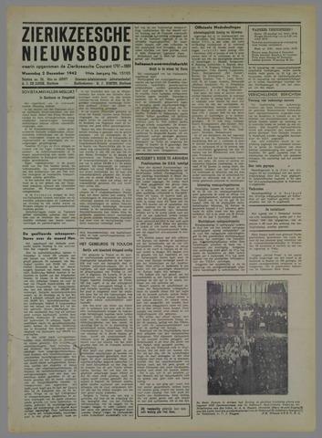 Zierikzeesche Nieuwsbode 1942-12-02