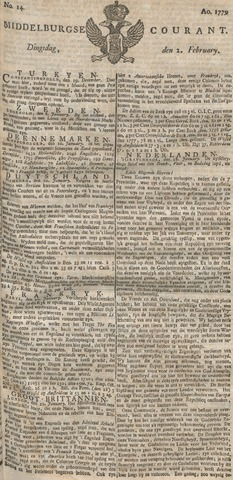 Middelburgsche Courant 1779-02-02