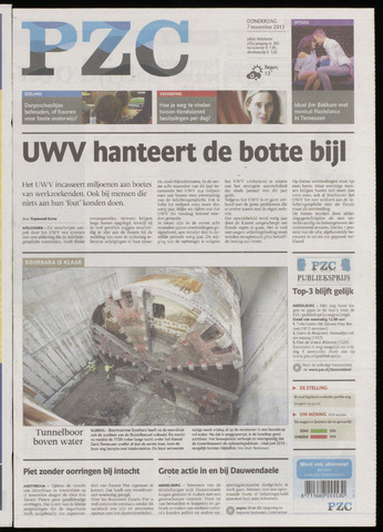 Provinciale Zeeuwse Courant 2013-11-07