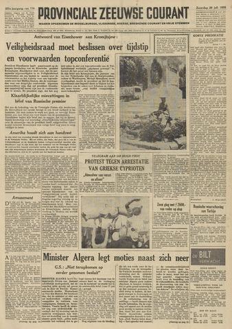 Provinciale Zeeuwse Courant 1958-07-26