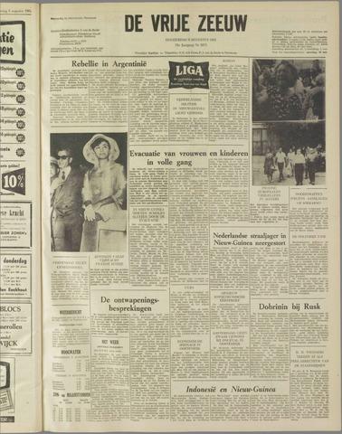 de Vrije Zeeuw 1962-08-09