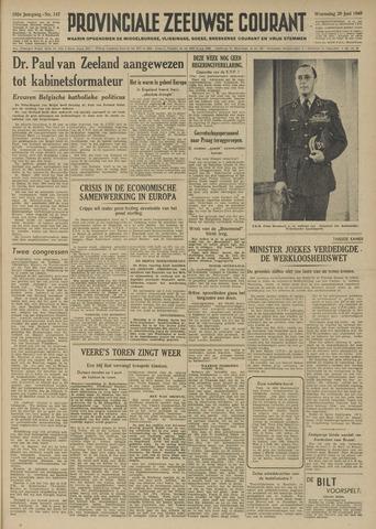 Provinciale Zeeuwse Courant 1949-06-29