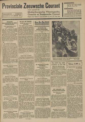 Provinciale Zeeuwse Courant 1941-01-27