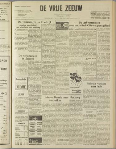 de Vrije Zeeuw 1962-11-26